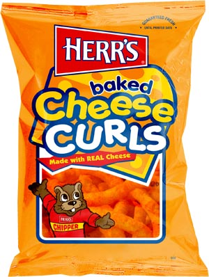 Herr's Baked Cheese Curls 198,5g