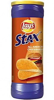 Lay's Stax All-American Cheeseburger (156g)