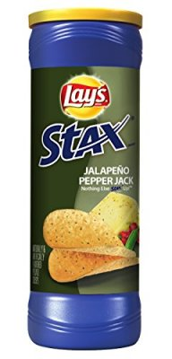 Lay's Stax Jalapeño Pepper Jack (156g)