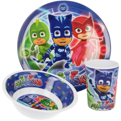 Matset Pyjamashjältarna dinner set pj masks