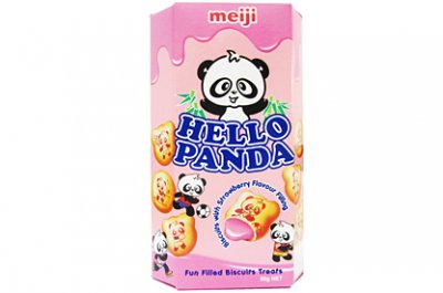 Meiji Hello Panda Strawberry (50g)