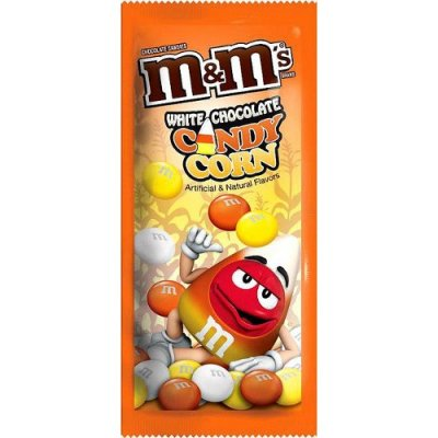 M&Ms Candy Corn White Chocolate