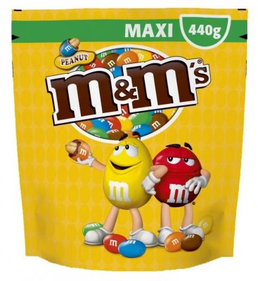 M&M's XL Peanut Pouch 440g