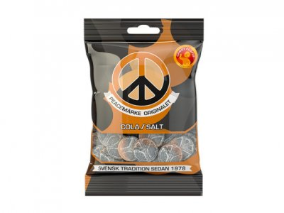 peacemärken Cola salt 80g