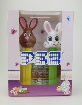 Pez Happy Easter (Brown Bunny & Floppy)