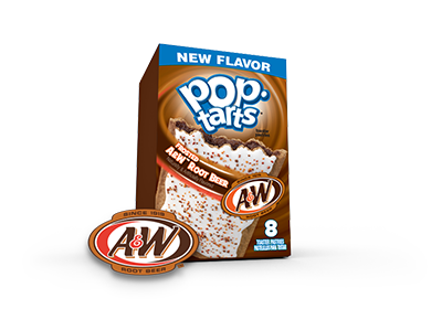 Pop-Tarts Frosted A&W Root Beer