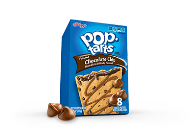 Pop-Tarts Frosted Chocolate Chip 8-Pack (417g)