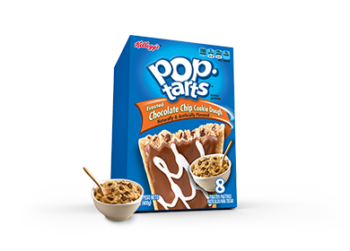 Pop-Tarts Frosted Chocolate Chip Cookie Dough 8-Pack (400g)