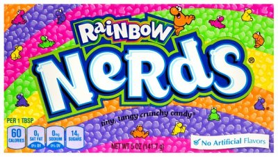 wonka Rainbow Nerds (141g)