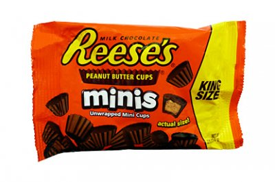 Reese's Minis Peanut Butter Cups (King Size bag 70g)
