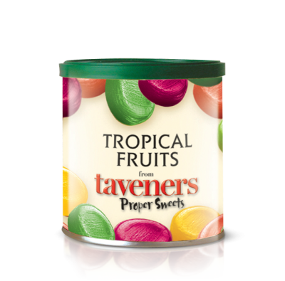 Taveners Tropical Fruits drops 200g