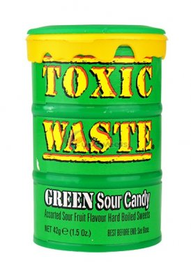 Toxic Green Sour Candy