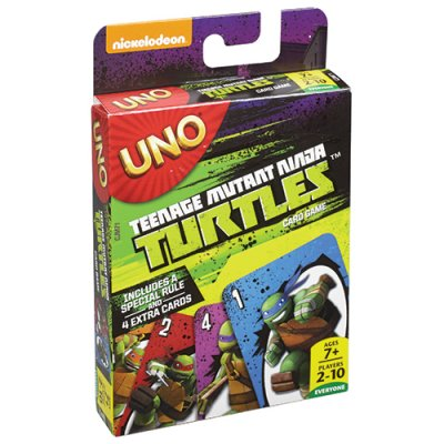 UNO Teenage Mutant Ninja Turtles