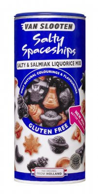 van slooten Salty Spaceships salty & Salmiak Liquorice Mix