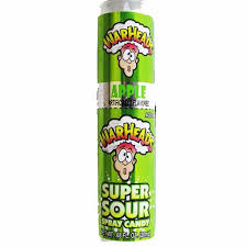 Warheads Super Sour Spray Candy Green Apple