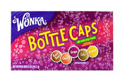 Wonka Bottle Caps (141g)