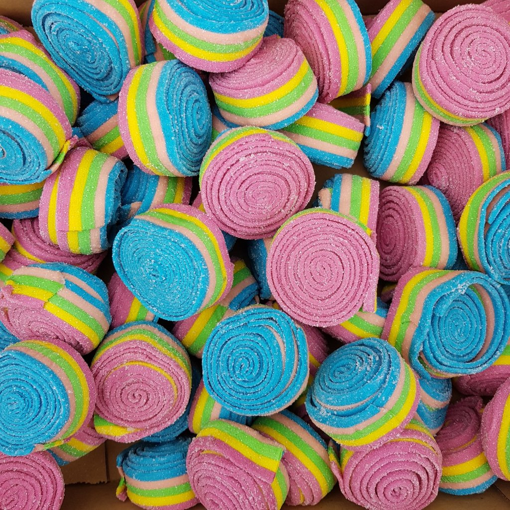 Rolls Rainbow Nyheter Happycandy Se