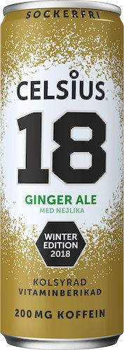 celsius ginger ale